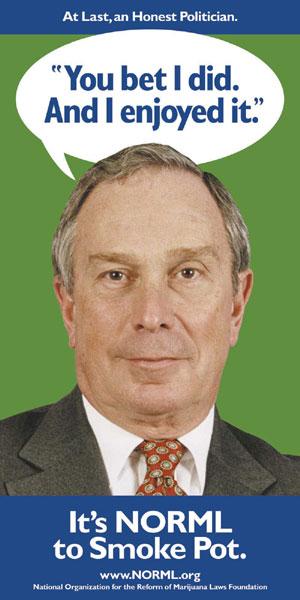 NYC Mayor Bloomberg: Starting Next Month, No Jail for Marijuana Possession
