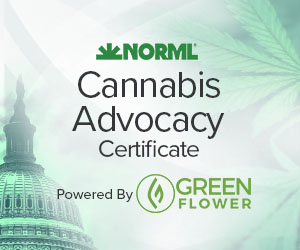 Green Flower Media and NORML Advocacy Certificate