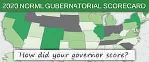 2020 NORML Gubernatorial Scorecard