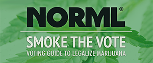 Smoke the Vote - Marijuana Voting Guide