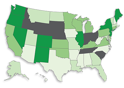 NORML Governors Scorecard